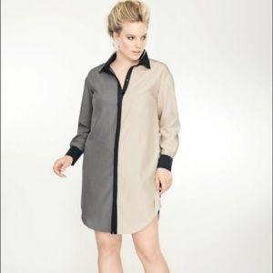Lane Bryant Colorblock Tunic Dress - Isabel Toledo